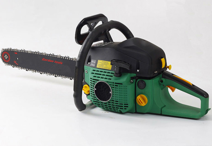 2 Stroke Gas Power Chain Saw 4500 with 45cc displancement 20 inch bar