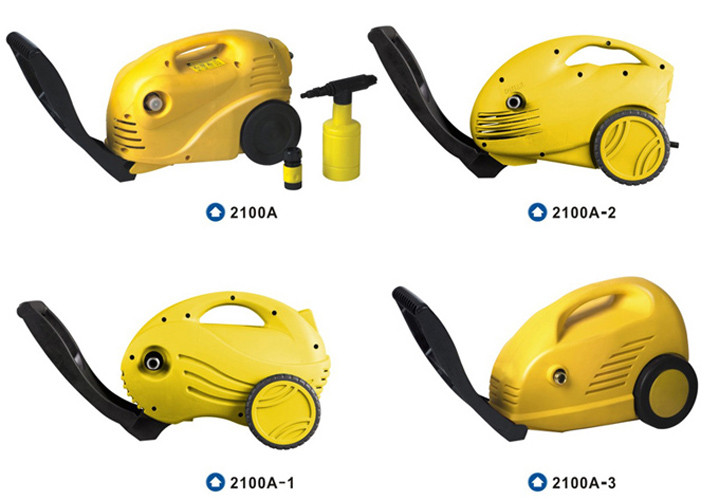 Mini Household electric high pressure water cleaners 1200W Power