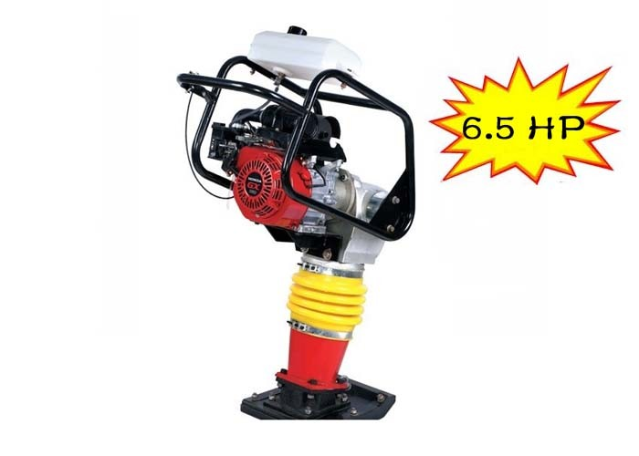 6.5 HP Gasoline tamping rammer compactor for project WITH 600-700 n/min Frequency