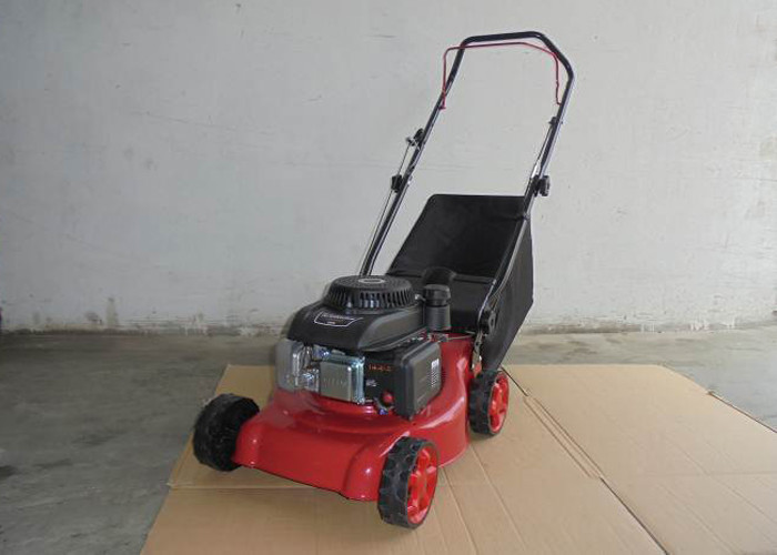 99cc Petrol Driven Lawn Mowers / 16 Inch Portable Lawn Mower With Self Engine
